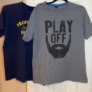 Bauer hockey T-shirt bundle size Large